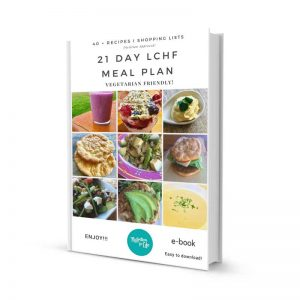 low carb lchf diet 21-day