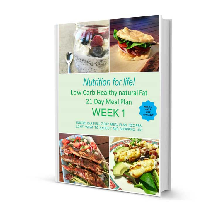 low carb healthy fat diet 21-day